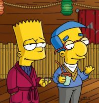 suave bart and milhouse