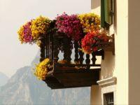 Alpine balcony