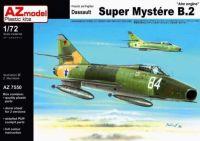 "AZ model Dassault Super Mystere B.2 ""Atar engine"" Israeli Air Force AZ7550 1/72"