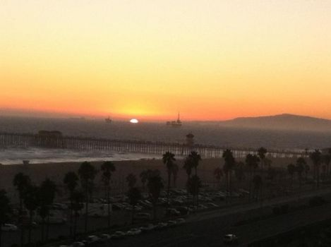 Sunset Huntington Beach