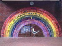 Leeds Market Mosaic Mural