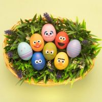 Happy Easter from Sesame Street
