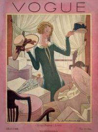 Vintage Vogue Magazine Cover - March 1925