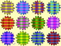 Plaid Flowers