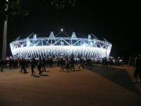 olympic stadium - at night