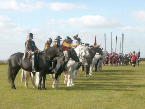 Battle of Winceby re-enactment - 11th Oct 2003