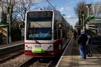 london 22-02-2014 croydon tramlink 2534 at morden road 01