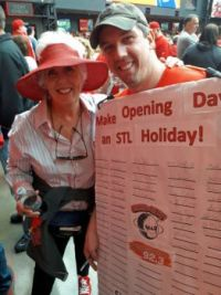 Opening Day/ St. Louis Cardinals