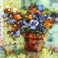 Early Pansies by Monique Carr