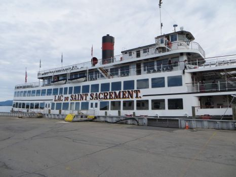 Lac du Saint Sacrement which cruises Lake George in upstate New York.