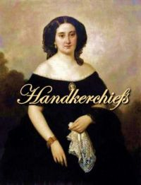 Portrait Of Lovely Unknown Lady, Plus, The Story of Vintage Hankies  By Katie Dix