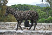 paard van hoefijzers