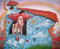 Red Head Daydream, Artist Zurab Martiashvili