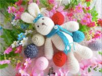 Handmade Crochet Rabbit - 336