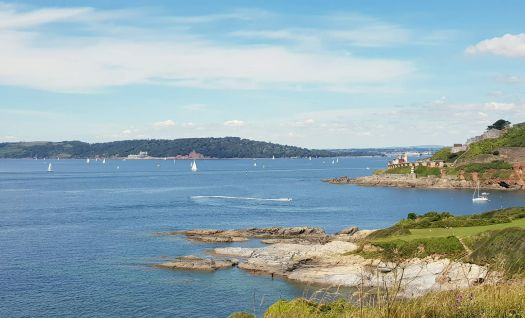 View across Plymouth Sound from Bovisand