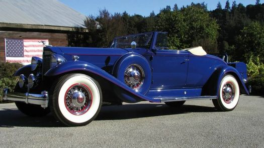 1933 - Packard Twelve 2 4 passenger coupe roadster