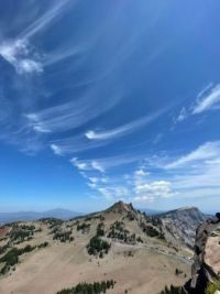 """""""Mares' tails over the Pacific Northwest"""""""