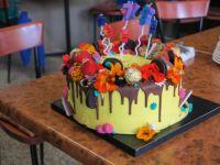 My beautiful birthday cake