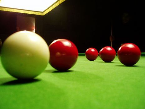 For Snooker: THEME: Round things: snooker, pool, and billiard balls