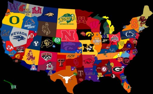 CFB Fan Map (Somewhat Inaccurate)