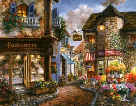 Old Town by Nicky Boehme