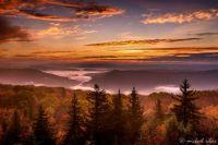 Autumn Sunrise at Dolly Sods, West Virginia