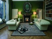 Fornasetti's living room