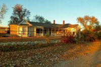 Sun Sets On The Cottonwood Ranch House--Studley, Kansas