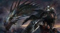 Knight and Dragon (Huge)