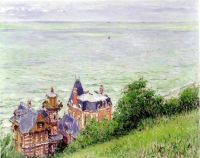 Villas at Trouville - 1884