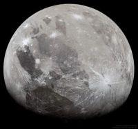 """Ganymede from Juno"""