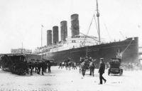 RMS Lusitania, 1915