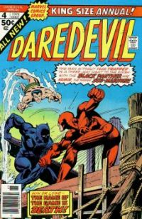 Daredevil, Black Panther And The Sub-Mariner