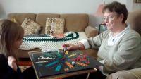 Playing Aggravation With Grandma