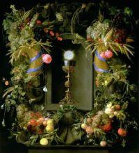 Eucharist  In A Fruit Wreath