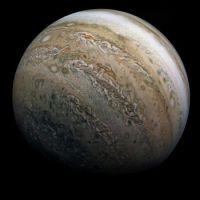 Jupiter - New 2021 Photo from the Juno Probe