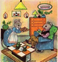 A Cozy Evening at Mr. and Mrs. Mouse's House