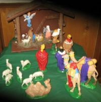 Creche made by my parents in 1988