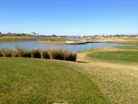 Island Green #8 on The Village's Belle Glade CC, Tequesta 9