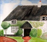 Thatched Cottage by keaw yead