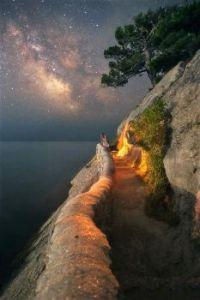 Well lit path