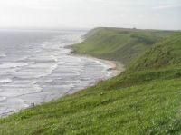 Coastline at Ale stenar