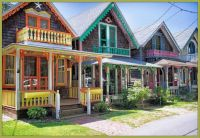 Gingerbread Houses, Martha's Vineyard, Massachusetts