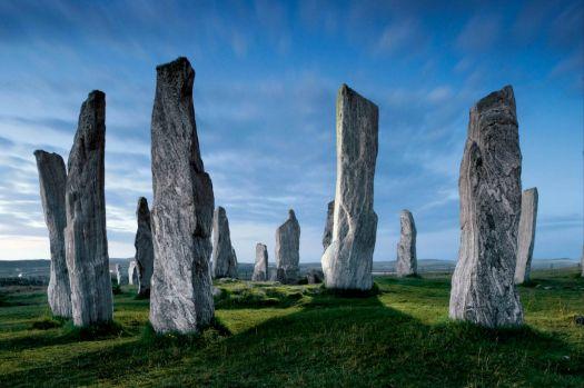 Callanish Standing Stones on the Isle of Lewis, Scotland
