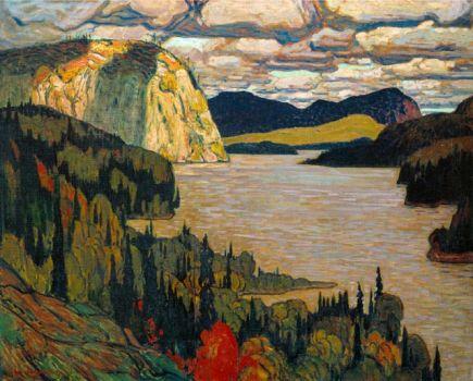 The Solemn Land, J E H MacDonald 1921