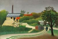 Henri Rousseau (French, 1844–1910), Sawmill in the Environs of Paris (after 1889)