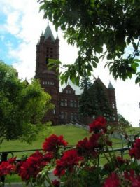 A prettier building at Syracuse University - Crouse College