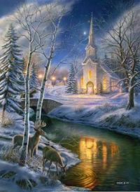 O Holy Night by James Meger