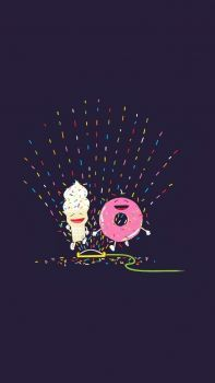 Donut & Ice cream