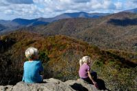 Fall in the Blue Ridge Mountains of NC